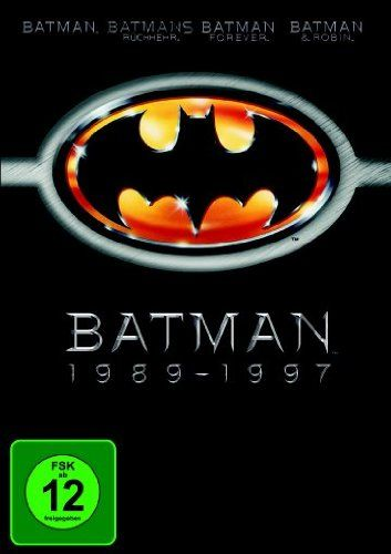 Batman 1989-1997 (Batman / Batmans Rückkehr / Batman Forever / Batman & Robin) [4 DVDs] Warner Bros. Entertainment GmbH http://www.amazon.de/dp/B00ABA1OT0/ref=cm_sw_r_pi_dp_ProVwb1A8QRPA