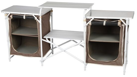 Oztrail Camping Camp Kitchen Double Pantry Table Camp Camping Double Kitchen Oztrail Pantry Pan Camp Kitchen Camping Kitchen Table Portable Camp Kitchen