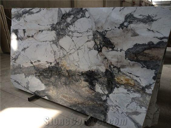 Marble - Iceberg White Grey   from Turkey