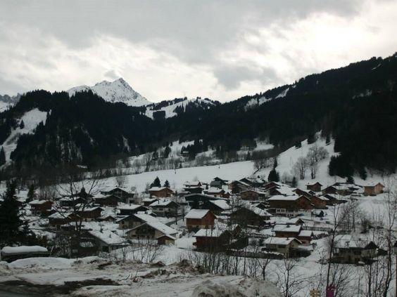 Jolis petits village de montagne