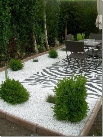 effet contemporain jardin sec fleurs jardins pinterest. Black Bedroom Furniture Sets. Home Design Ideas