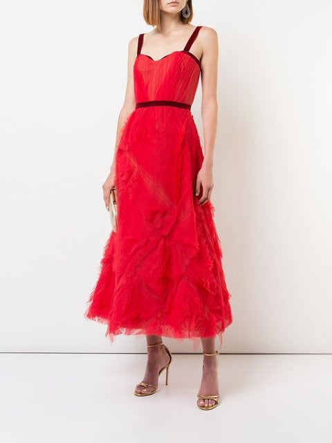 4bce08e524babf Marchesa Notte Embellished Tulle Gown