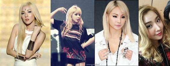 """2NE1 """"BLONDE HAIR"""""""