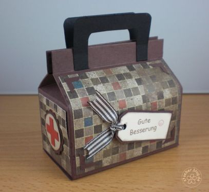 stampin up, doctor bag, get well
