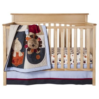 Tiddliwinks In The Pocket 3pc Crib Bedding Set