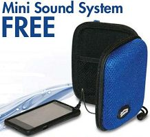 FREE Mini Sound System at RC Willey Stores on http://hunt4freebies.com