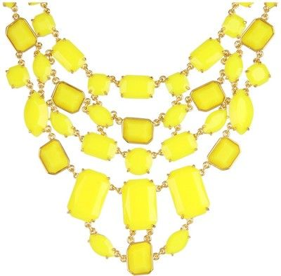 Kate Spade New York Mulholland Drive Bib Necklace - Polyvore -