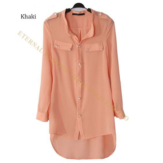 Women Bluz femininas Shirts Camisas kimono cardigans Plus Size XXXL Tunic Fishtail Chiffon Muslim Long Shirt Womens Blouses