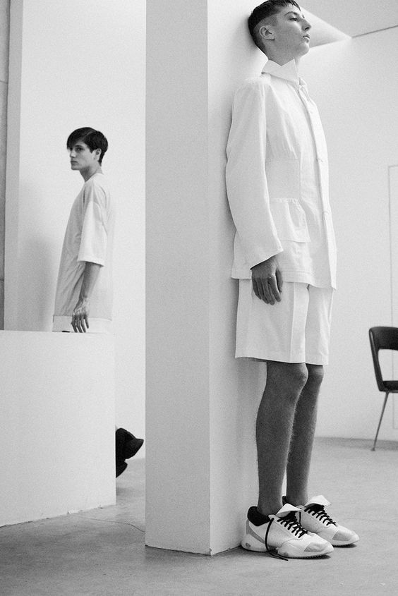 Julian + Oliver, photographed by Lea Colombo, styled by Benjamin Brouillet, hair by Laura Noben