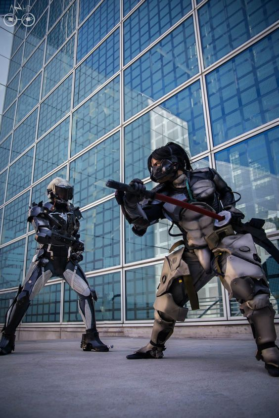 Raiden VS. Jestream Sam by AzHP Photography by ~El-Fett on deviantART