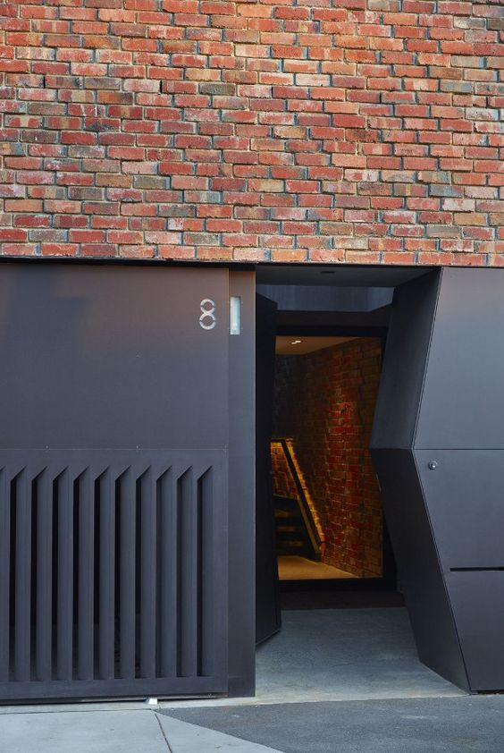 desire to inspire -  Briques et noir mat