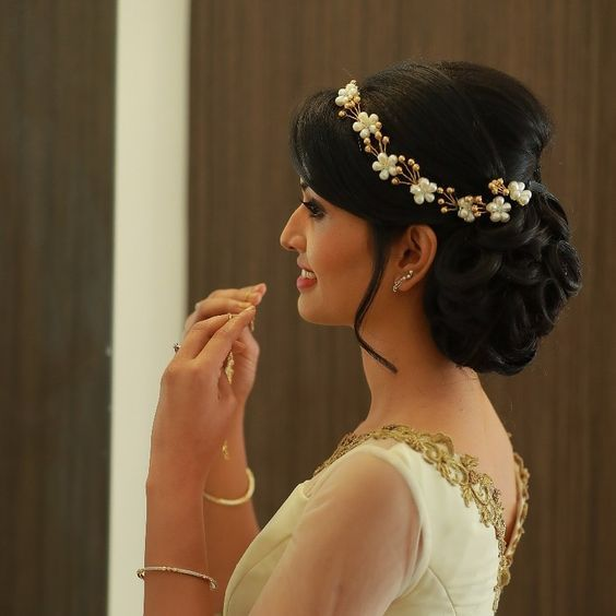 Lintagirlyabey Bridal Hairstyle Indian Wedding Bridal Hair Buns Indian Bridal Hairstyles