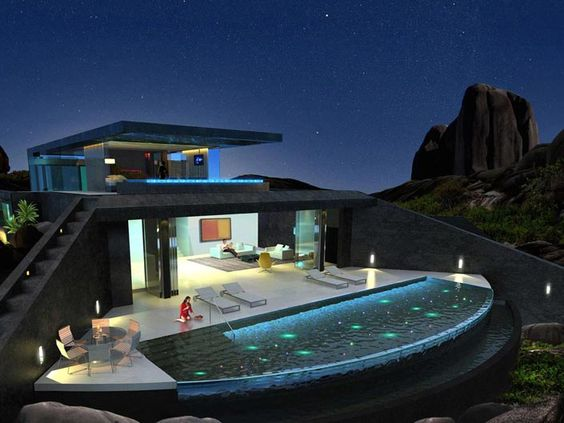 Exclusive Private Villas at Zil Pasyon on Felicite Island Seychelles by Richard Hywel Evans