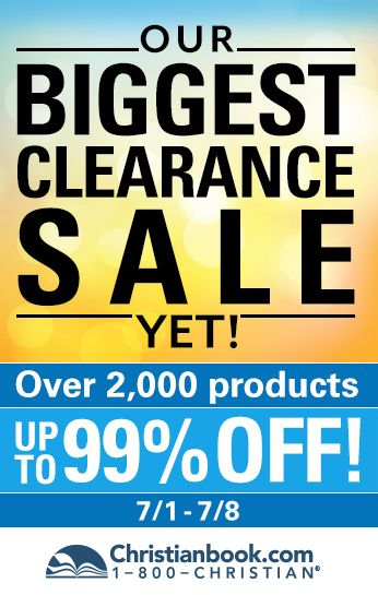 Clearance Sale at Christianbook.com til 7/8!