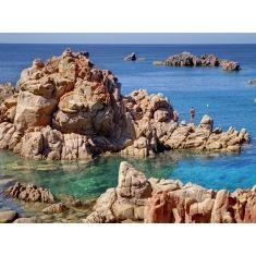 Sardinien, Italien, Sardinien,Cala Paradiso, Felsen, Meer, Fototapete Merian, Fotograf: K. Bossemeyer,
