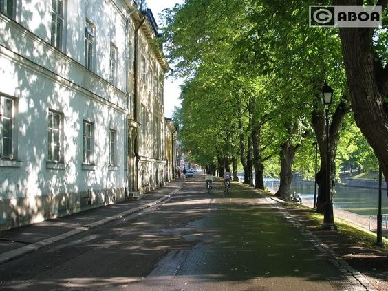 Turku, riverside