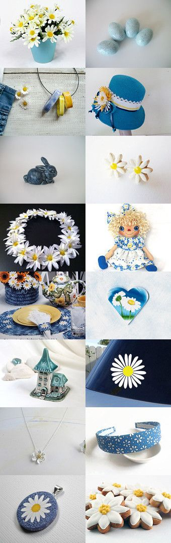Fresh as a Daisy by DivineOrders on Etsy--Pinned with TreasuryPin.com