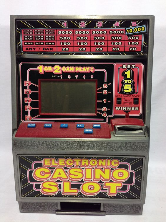 electronic slot machine