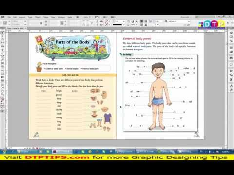 01 Children Books Layout In Indesign In Hindi New Page
