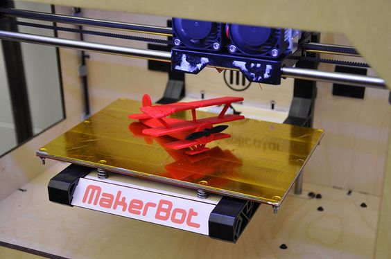 airplane made from 3D printer