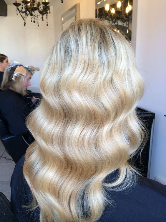 Marcel Waves created using Babyliss PRO Perfect curl