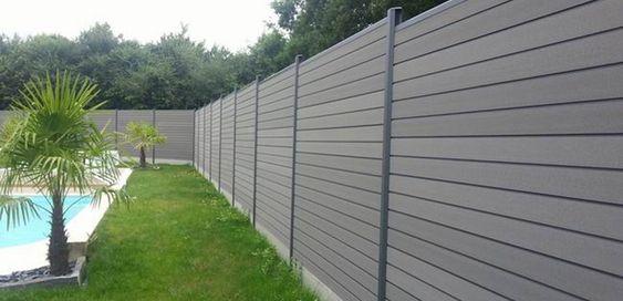 clôture PVC rigide