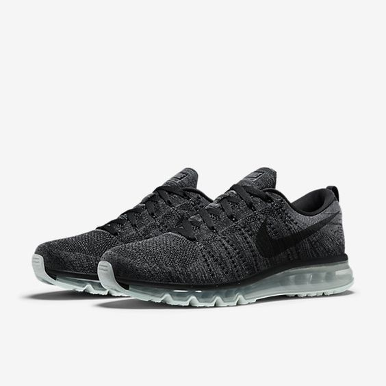 new product d2f17 44b71 nike flyknit air max mens running shoe