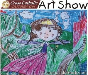 Art Show: Cross Catholic Outreach: submit kids' art for donations to hungry kids in Honduras!