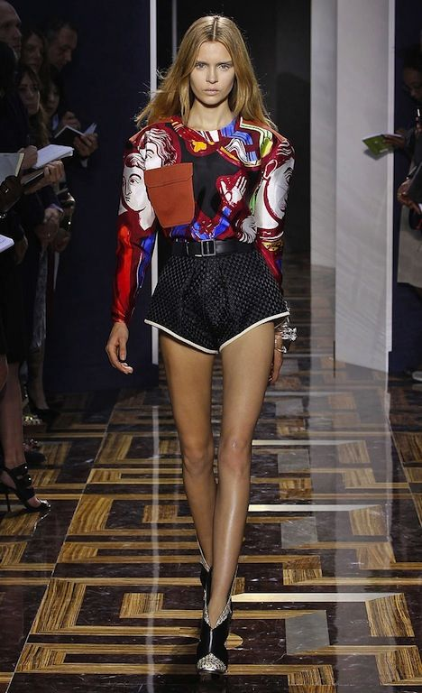 Balenciaga Spring 2012 Medieval Stained Glass Prints