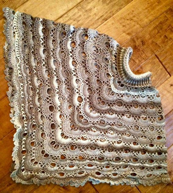 Crochet Pattern Virus Shawl : Explore Crochet Virus Poncho, Crochet Ponchos, and more!