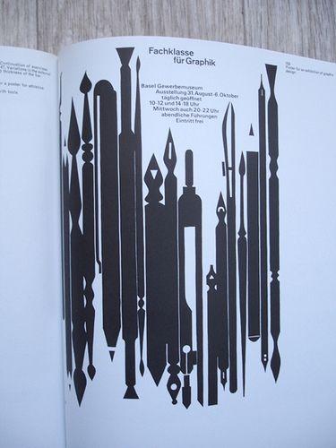 Armin Hofmann's illustration of pens