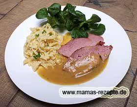 Schweine - Senfbraten | Mamas Rezepte - mit Bild und Kalorienangaben