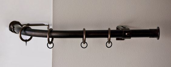Bow Window Hardware : Creating a window treatment for bay or bow