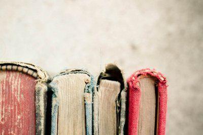 Good, old books, full of soul.