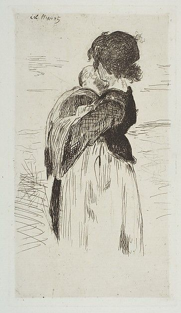 Édouard Manet | The Little Girl | The Met