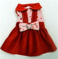 Just in time for Valentines Day Is this adorable Dress by Ruff Ruff Couture® Proudly made in the USA.
