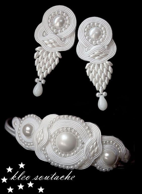 Sutasz Kleo /Soutache jewellery: ELERIS II: