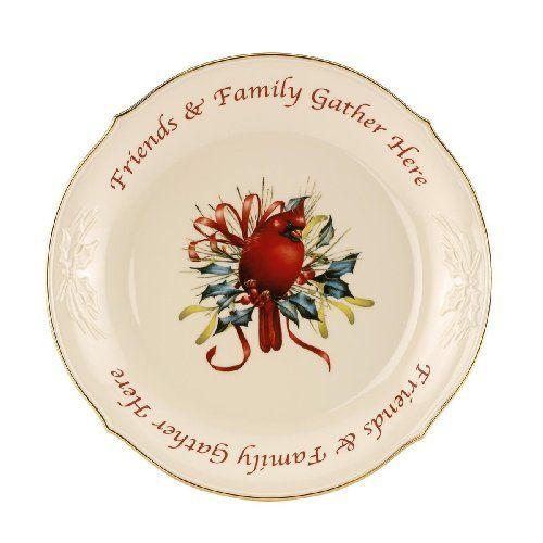 Lenox Cardinal Christmas Dishes