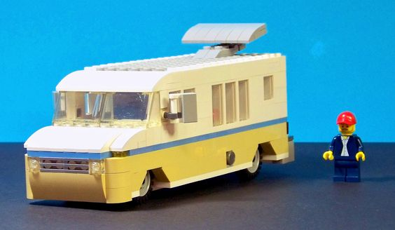 Lego Hot Rod RV Modified 01 | by 60sfunnycars