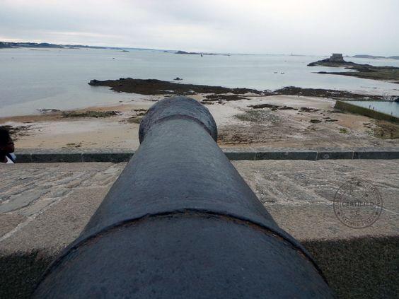 Rempart, Canon, Saint Malo, Bretagne