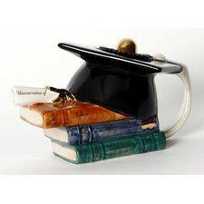 One Cup Grad Tea Pot