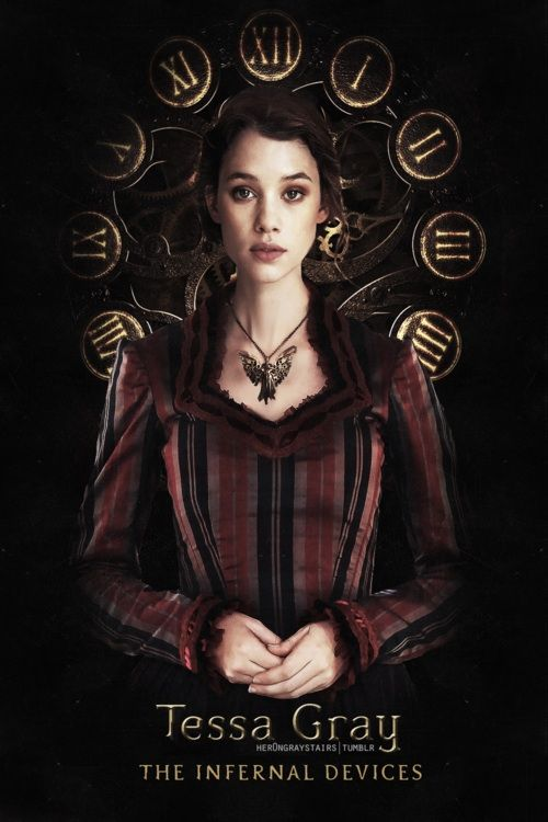 Astrid Berges-Frisbey as Tessa Gray: