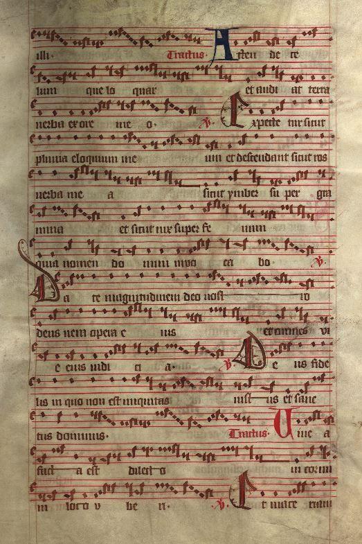 Moosburger Graduale um 1360 Moosburg Cim. 100 (= 2° Cod. ms. 156)  Folio 147