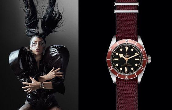 Lady Gaga and Tudor Heritage Black Bay