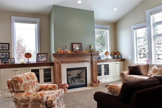 Classic and timeless living room design from 1 of 28 for Timeless fireplace designs