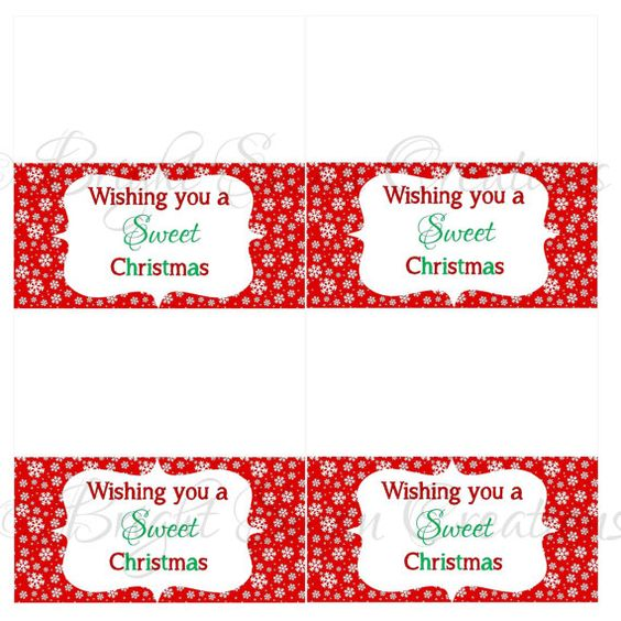 Christmas treat bags, Christmas treats and Treat bags on Pinterest
