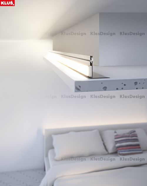 The Nisa Kon Profile Can Be Mounted Further From The Edge Of A Niche While Maintaining Stron Home Lighting Design House Ceiling Design Interior Ceiling Design