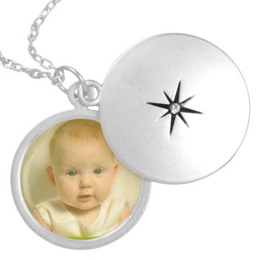 Custom Photo Keepsake Family Baby Locket