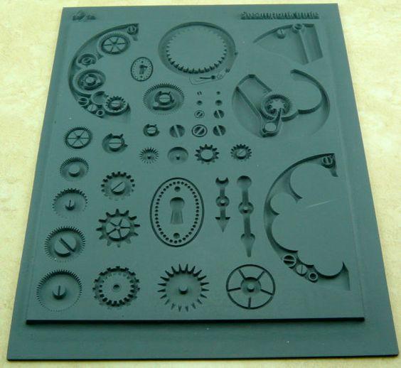 INNIE Lisa Pavelka Rubber Stamp Steampunk by artisticrenderings