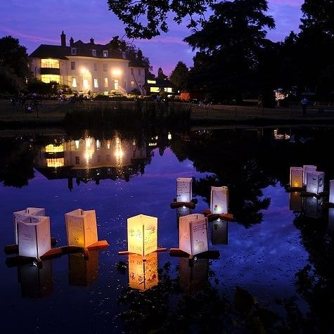 Be Part Of A Lantern Floating Festival At An 18th Century Manor